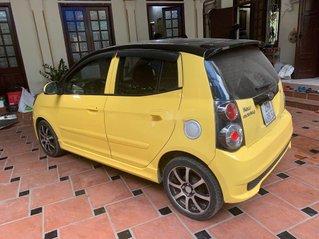 Bán Kia Morning sản xuất năm 2012, màu vàng, số tự động