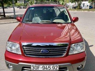 Cần bán gấp Ford Escape 2004, màu đỏ, số tự động