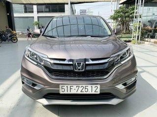 Cần bán xe Honda CR V 2.4AT sản xuất 2015, màu nâu xe gia đình