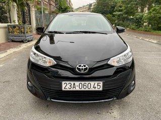 Bán Toyota Vios 1.5E CVT đời 2019, màu đen số tự động, giá 495tr