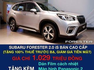 Subaru Forester IS - khuyến mãi cực khủng tháng 10. Tặng 100% thuế trước bạ, tiền mặt và nhiều quà tặng hấp dẫn