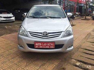 Cần bán Toyota Innova sản xuất 2008, màu bạc, xe gia đình