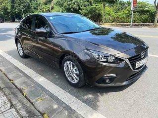 Bán ô tô Mazda 3 sản xuất năm 2017, màu nâu