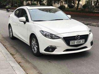 Bán xe Mazda 3 năm sản xuất 2016, màu trắng