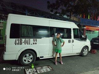 Bán xe Ford Transit Limousine Dcar 10 ghế 2014, màu trắng, 450tr