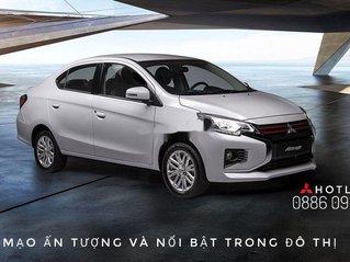 Bán Mitsubishi Attrage năm sản xuất 2020, màu bạc, nhập khẩu. Ưu đãi cuối năm