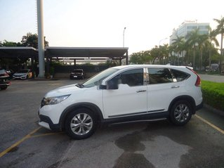 Cần bán gấp Honda CR V 2.0L AT năm sản xuất 2013, màu trắng