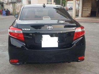 Bán Toyota Vios E 2017, màu đen chính chủ, 379tr