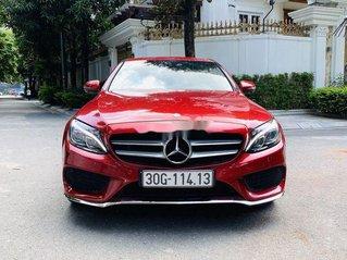 Bán Mercedes C300 AMG đời 2018, màu đỏ