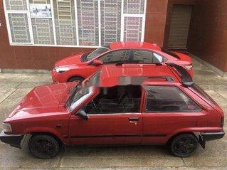 Xe Toyota Corolla sản xuất 1987, màu đỏ, xe nhập, giá chỉ 45 triệu