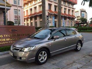 Cần bán xe Honda Civic đời 2008, màu xám