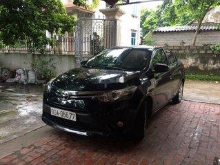 Bán xe Toyota Vios năm sản xuất 2017, màu đen, nhập khẩu chính chủ