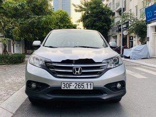 Cần bán lại xe Honda CR V 2.4AT đời 2014, màu bạc