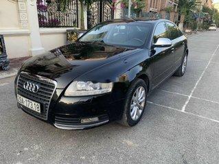 Chính chủ bán Audi A6 sản xuất năm 2010, màu đen, nhập khẩu