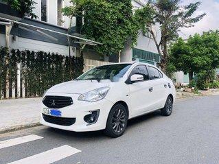 Bán Mitsubishi Attrage năm sản xuất 2017, màu trắng, nhập khẩu Thái số sàn, xe cực đep