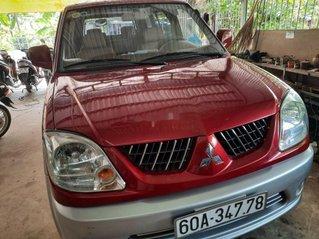 Bán Mitsubishi Jolie sản xuất năm 2004, màu đỏ xe gia đình