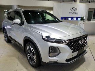 Bán Hyundai Santa Fe sản xuất 2019, màu bạc