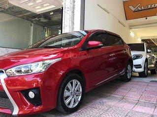 Cần bán Toyota Yaris sản xuất 2017, màu đỏ, nhập khẩu, giá tốt