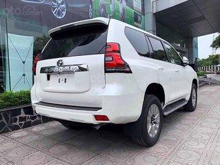 Bán Toyota Prado năm sản xuất 2020, màu trắng, nhập khẩu Nhật Bản