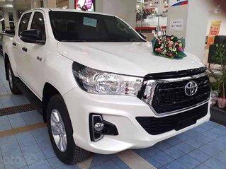 Bán Toyota Hilux sản xuất 2020, màu trắng, xe nhập, giá cạnh tranh