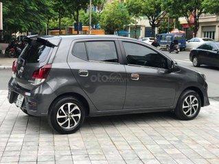 Bán xe Toyota Wigo 1.2 MT đời 2019, màu xám