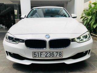 Bán BMW 320 LCI 2015 màu trắng nội thất kem, xe đẹp, bao kiểm tra tại hãng