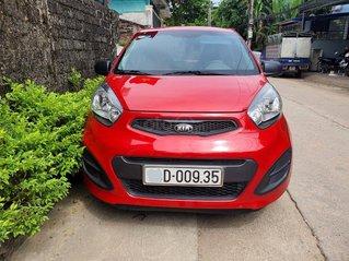 Mua xe giá thấp chiếc Kia Morning 2014 số tự động xe một đời chủ, màu đỏ còn mới
