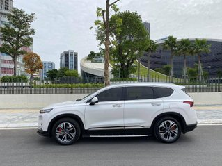 Cần bán xe Hyundai SantaFe đời 2019, màu trắng
