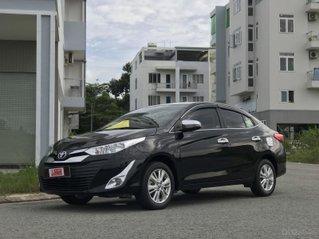 Bán nhanh ToyotaVios 1.5E số tự động, màu đen giá chỉ 488tr