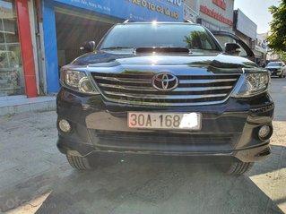 Bán Toyota Fortuner 2015 MT, màu đen