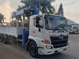 Xe Hino gắn cẩu 8 tấn Dongyang