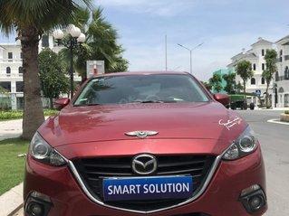 Cần bán nhanh với giá ưu đãi chiếc Mazda 3 đời 2015 màu đỏ, xe một đời chủ sử dụng