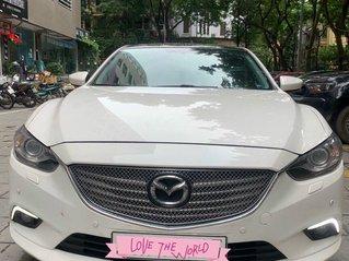Cần bán Mazda 6 Premium SX 2016 AT, màu trắng, máy nguyên, tư nhân chính chủ