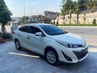 Xe Toyota Vios năm sản xuất 2019, màu trắng còn mới, giá tốt