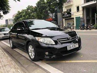Cần bán xe Toyota Corolla Altis năm sản xuất 2009, màu đen còn mới