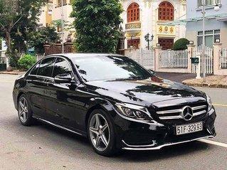 Cần bán Mercedes C class sản xuất 2015, màu đen còn mới
