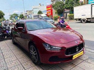 Bán Maserati Ghibli năm 2016, màu đỏ, xe nhập còn mới