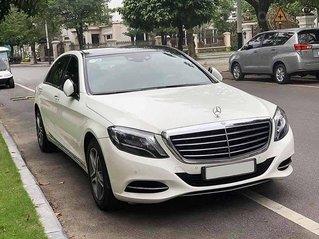 Cần bán gấp Mercedes S class năm 2015, màu trắng, nhập khẩu nguyên chiếc còn mới