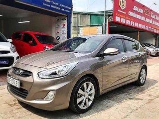 Xe Hyundai Accent năm sản xuất 2014, màu nâu, xe nhập còn mới
