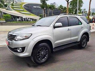 Bán Toyota Fortuner sản xuất 2016, màu bạc còn mới