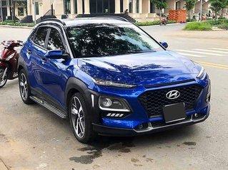 Bán xe Hyundai Kona năm 2018, màu xanh lam còn mới, 639 triệu