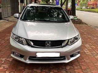 Bán Honda Civic năm sản xuất 2015, màu bạc còn mới