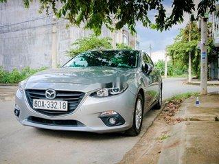 Bán xe Mazda 3 sản xuất năm 2016, màu bạc, giá chỉ 490 triệu