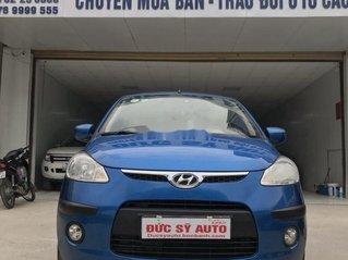 Bán lại xe Hyundai Grand i10 đời 2010, màu xanh lam, nhập khẩu