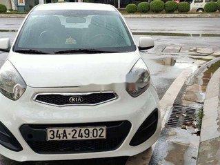Cần bán lại xe Kia Morning sản xuất năm 2014, màu trắng số sàn