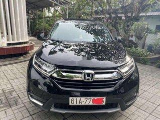 Bán ô tô Honda CR V sản xuất năm 2018, màu đen, xe nhập