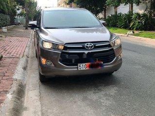 Bán Toyota Innova 2.0G đời 2018, màu nâu. BSTP