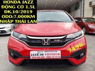 Bán Honda Jazz 2019, màu đỏ, nhập khẩu như mới