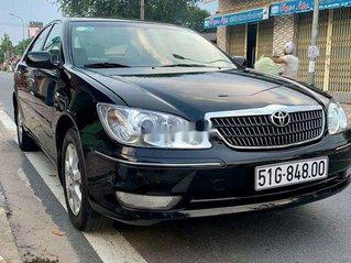 Bán Toyota Camry đời 2005, màu đen số sàn, 330tr