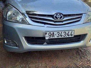 Cần bán gấp Toyota Innova năm sản xuất 2008, màu bạc xe gia đình, 210tr
